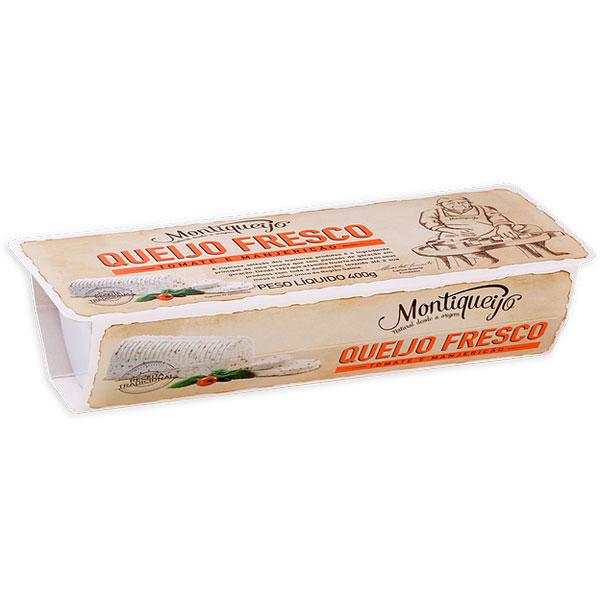 Queijo Fresco Vaca Tomate e Manjericão Montiqueijo 400 Gr