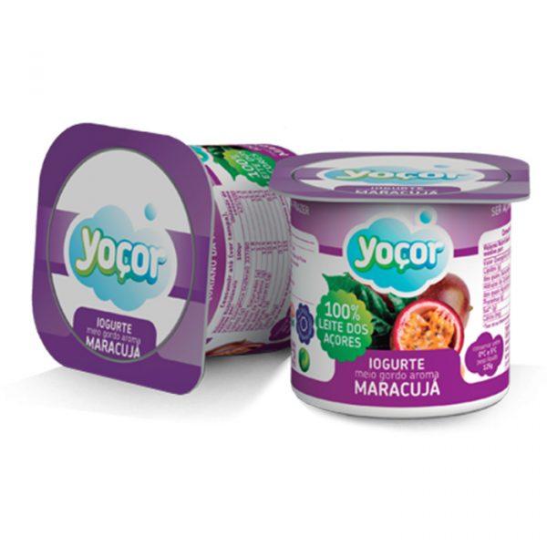 Iogurte Yoçor sólido Maracujá Pack4