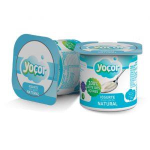 Iogurte Yoçor sólido Natural Pack4