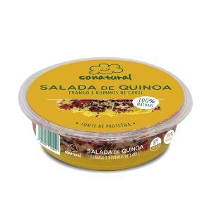 Sonatural Salada Quinoa Humus Caril Frango