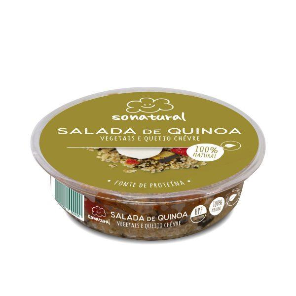 Sonatural Salada Quinoa Pisto Chevre