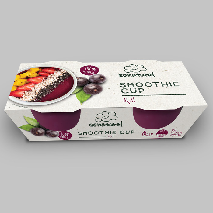 Sonatural Smoothie Açaí Duopack 2x100gr