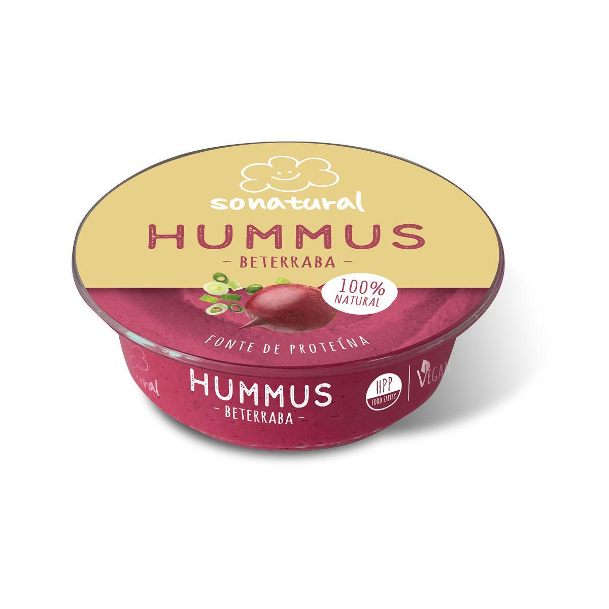 Sonatural Hummus Beterraba 200gr