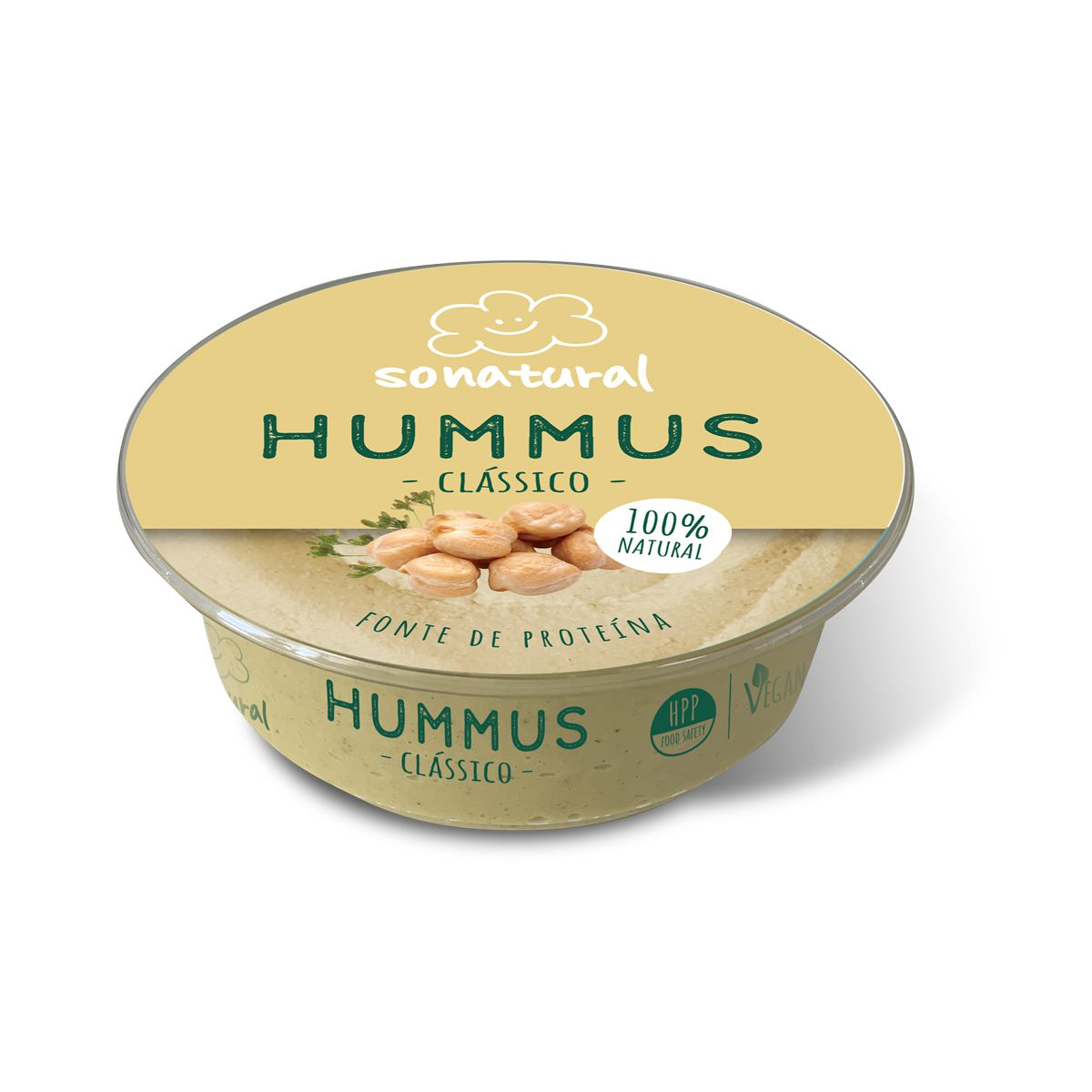 Sonatural Hummus Clássico 200gr