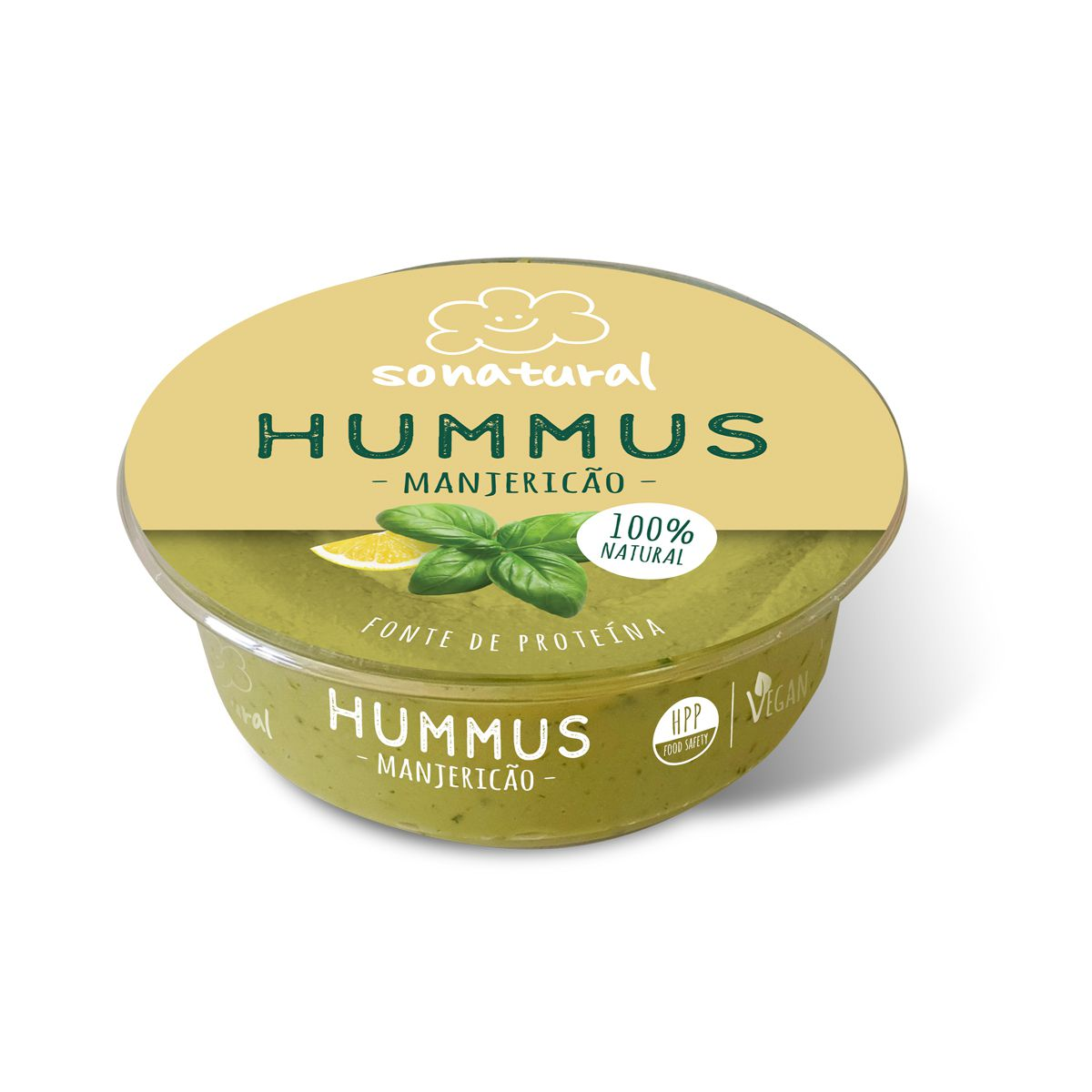 Sonatural Hummus Manjericão 200gr