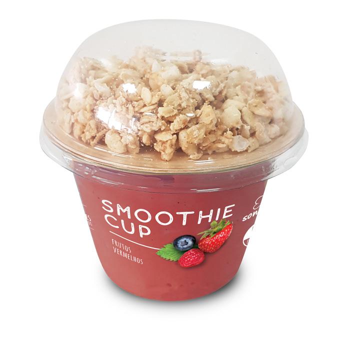 Sonatural Smoothie Cup Frutos Vermelhos c/Granola 150gr