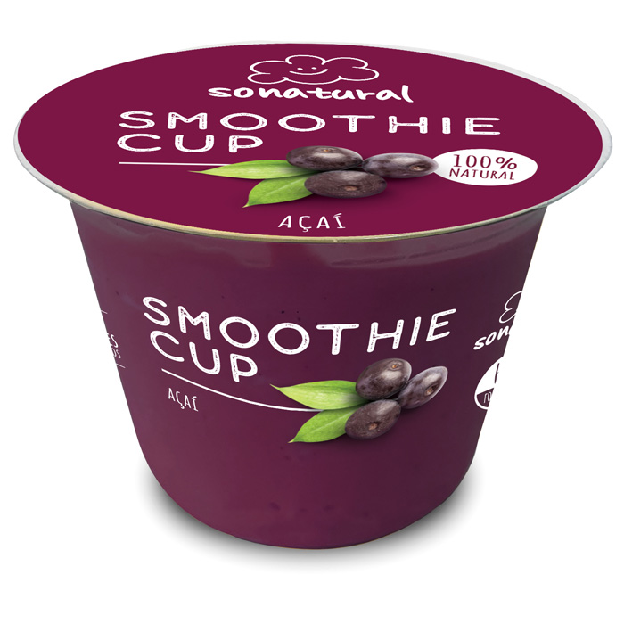 Sonatural Smoothie Cup Açaí 150gr