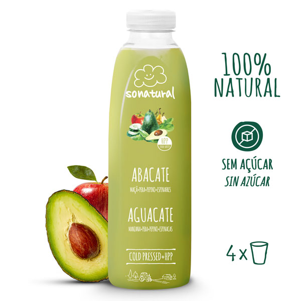 Sonatural Sumo de Abacate 750 ml